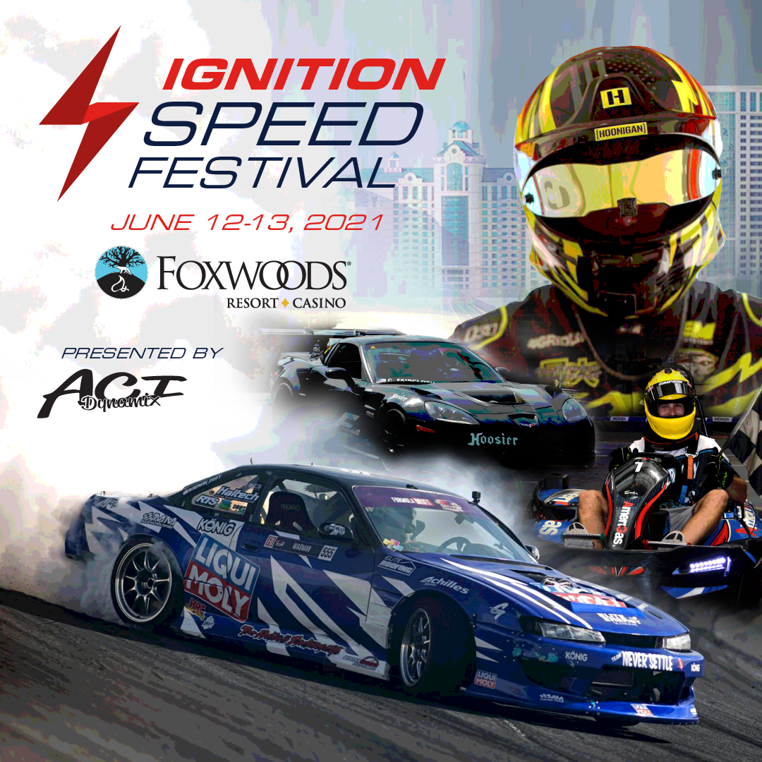 Ignition Speed Festival Poster